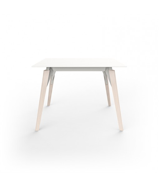 FAZ WOOD LOUNGE TABLE 100x100x74