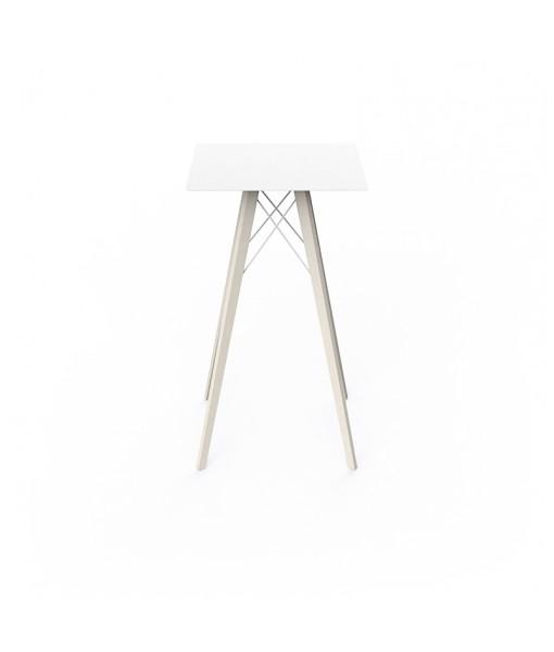 FAZ WOOD HIGH TABLE 60x60x105
