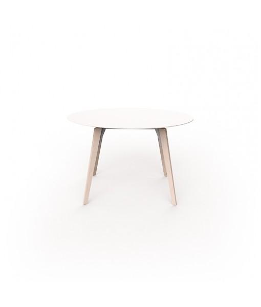 FAZ WOOD HIGH TABLE Ø120x74