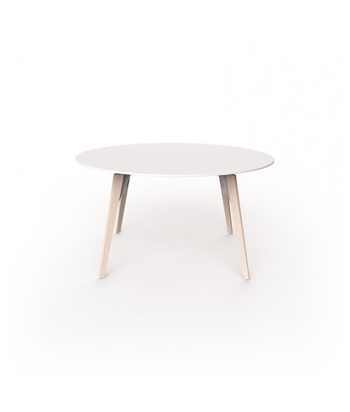 FAZ WOOD HIGH TABLE Ø140x74