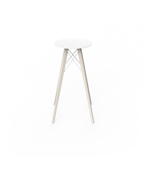 FAZ WOOD HIGH TABLE Ø50x105