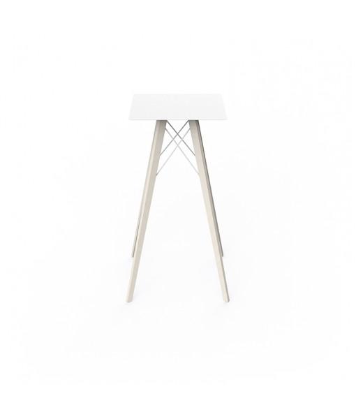 FAZ WOOD HIGH TABLE 50x50x105