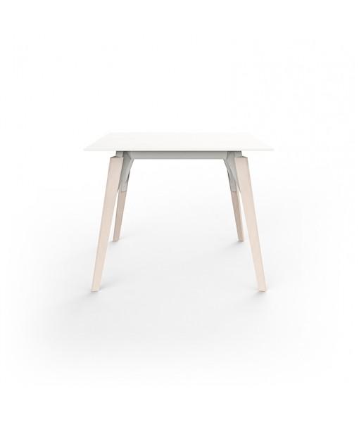 FAZ WOOD LOUNGE TABLE 90x90x74