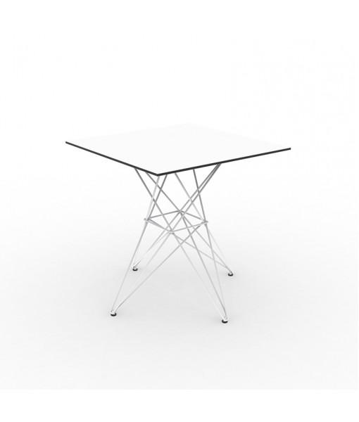 FAZ TABLE STAINLESS BASE 70x70x72
