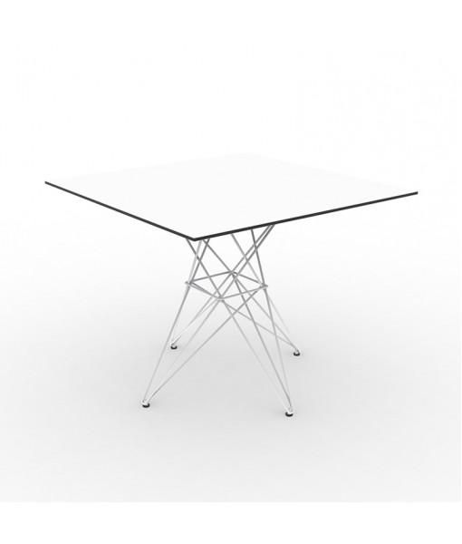 FAZ TABLE STAINLESS BASE 100x100x72