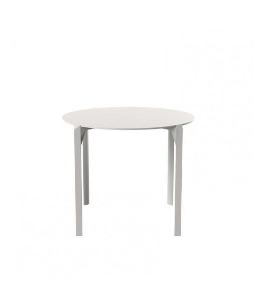 QUARTZ DINNING TABLE Ø90
