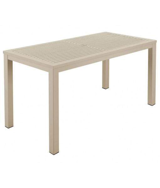 AURA Aluminum Narrow Table 140