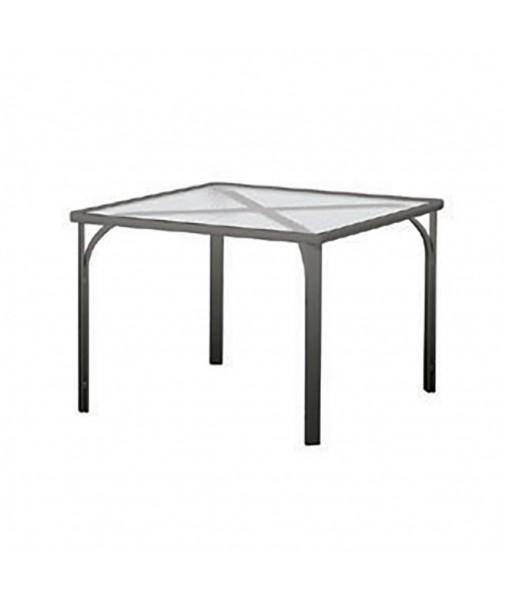 "Quantum 32"" Square Dining Table, Glass ..."