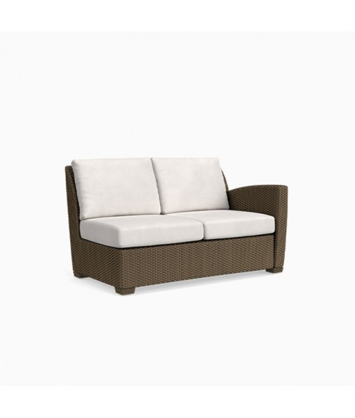 Fusion Right Arm Loveseat, Pillow Back