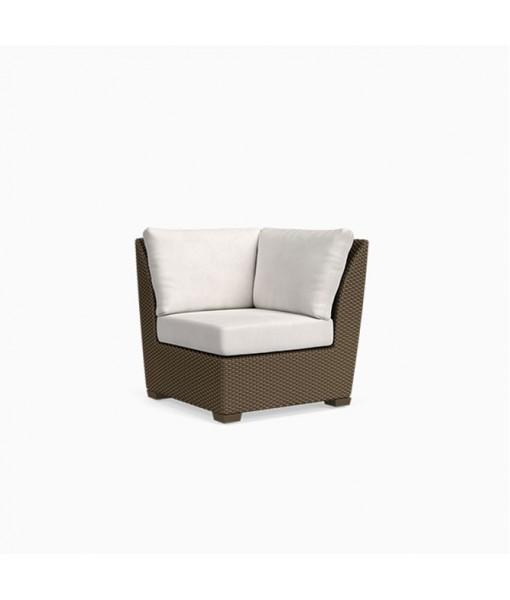 Fusion Corner Chair, Pillow Back