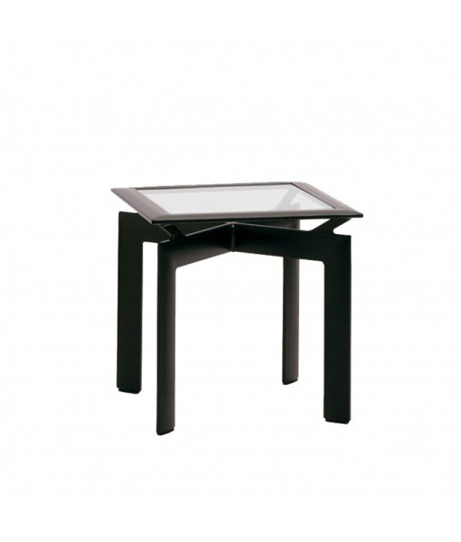 """Parkway 21"""" Square Occasional Table, Glass ..."""