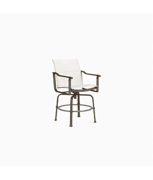 Fremont Sling Swivel Bar Chair, Sling