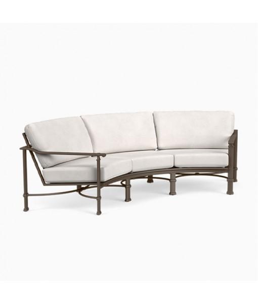 Fremont Cushion Curved Sofa