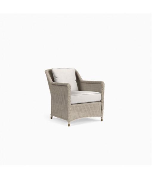 Southampton Lounge Chair, 1 Square Pillow