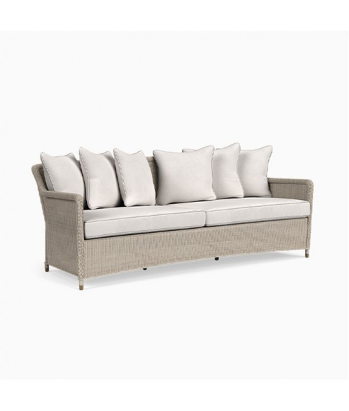 Southampton Sofa, 6 Square Pillows