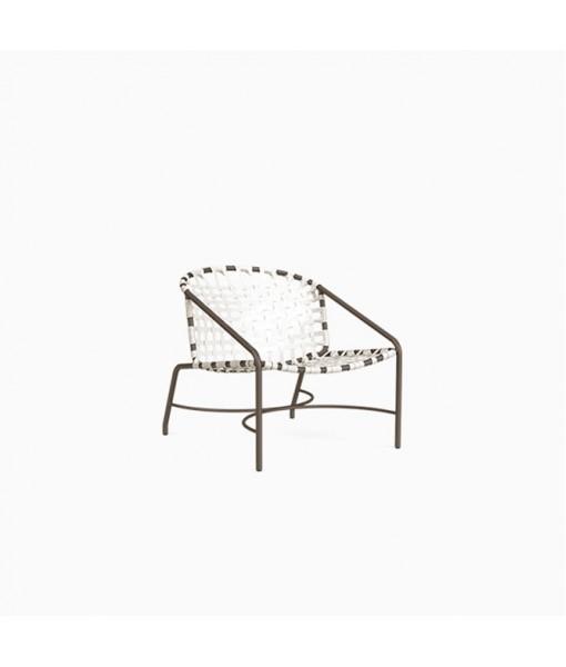 Kantan Aluminum Vinyl Lounge Chair, Vinyl ...