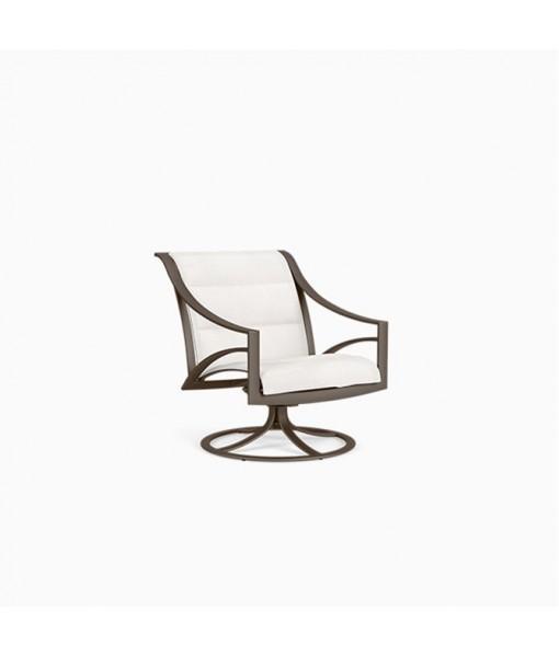 Pasadena Sling Swivel Motion Lounge Chair, ...