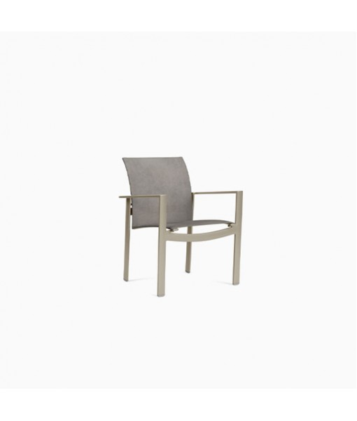 Parkway Sling Stacking Arm Chair, Sling