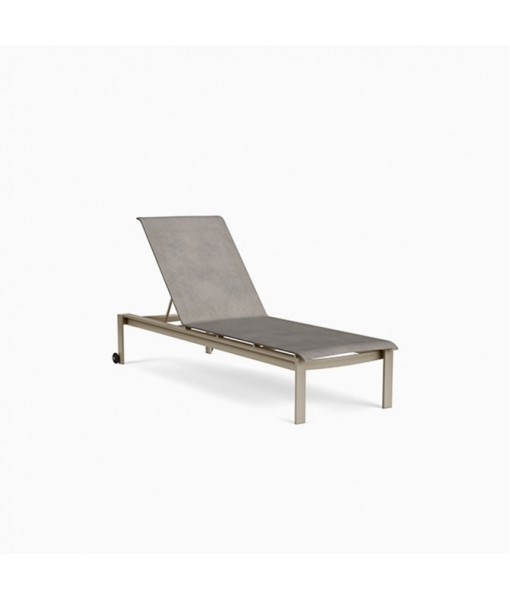 Parkway Sling Stacking Adjustable Chaise With ...