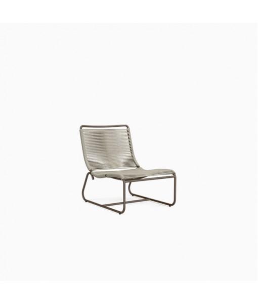 Walter Lamb Aluminum Lounge Chair