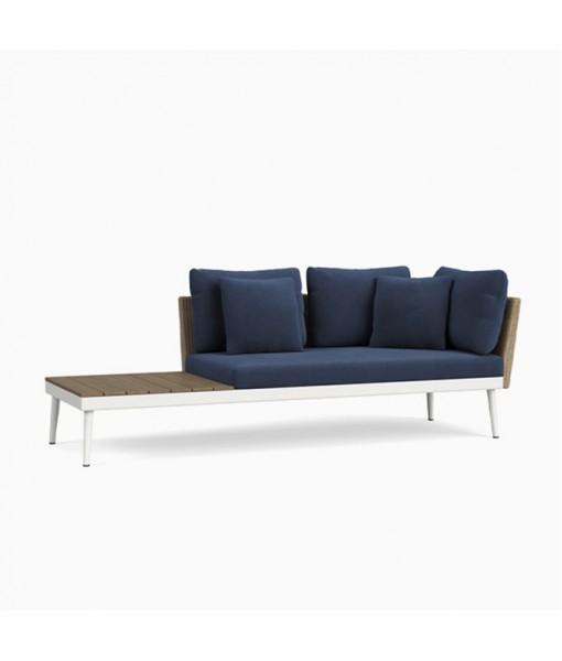 20TWENTY Right Arm Sofa with Driftwood ...
