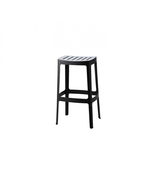 Cut bar stool, high stackable