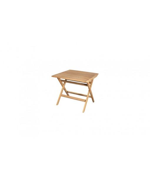 Flip folding table, 80 x 80 ...