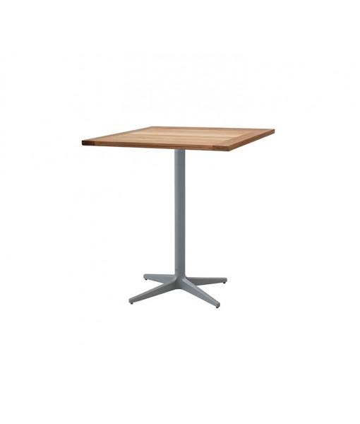 Drop café table, base w/72x72 cm ...