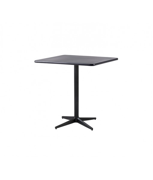 Drop café table, base w/75x75 cm ...