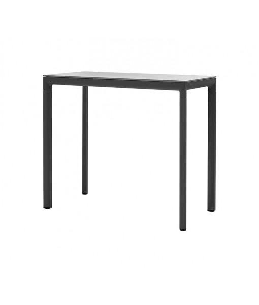 Drop bar table base, 120x60 cm