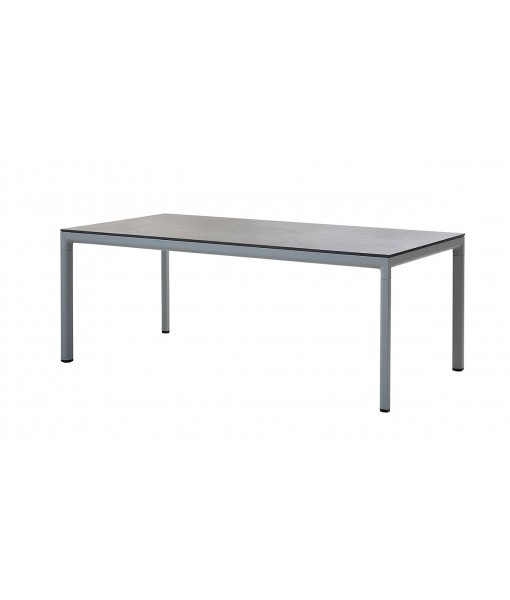 Drop dining table, base 200x100 cm