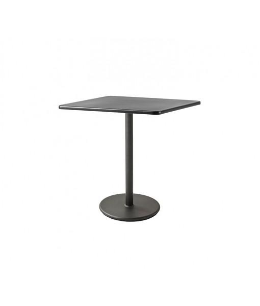 Go café table base, high w/75x75 ...