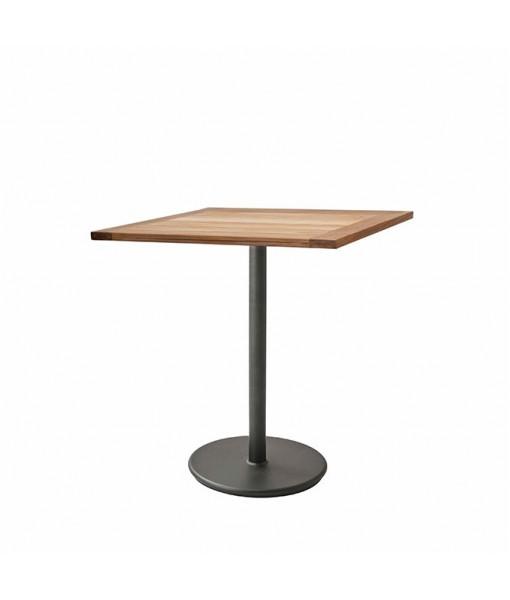 Go café table base, high w/72x72 ...
