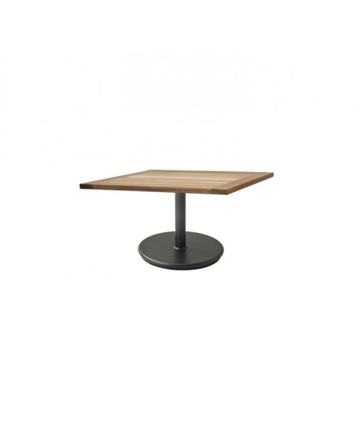 Go coffee table base, small w/72x72 cm table top