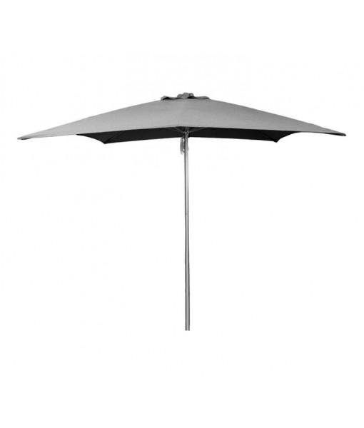 Shadow parasol w/pulley system, 3x3 m ...