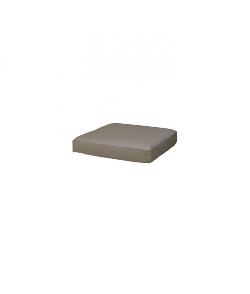Chester footstool, cushion Taupe, Tempotest