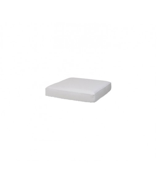 Chester footstool, cushion White