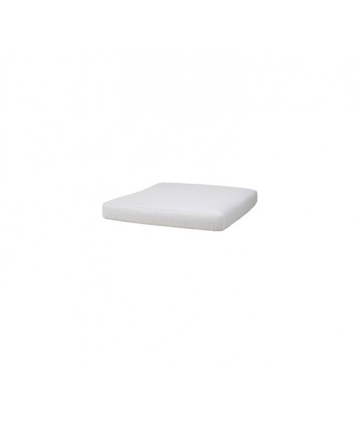 Connect footstool, cushion White