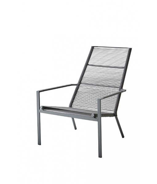 Edge highback chair, stackable