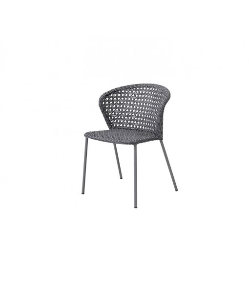 Lean chair, stackable