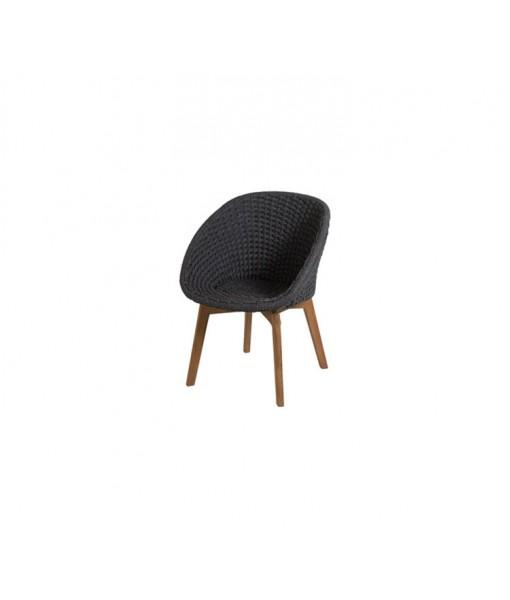 Peacock chair w/ teak legs