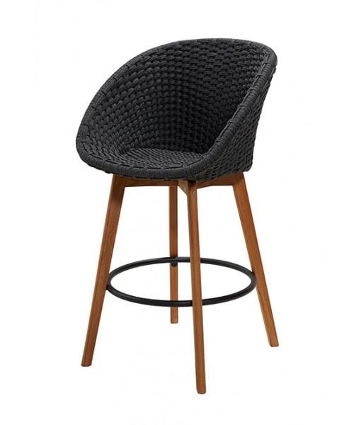 Peacock bar chair