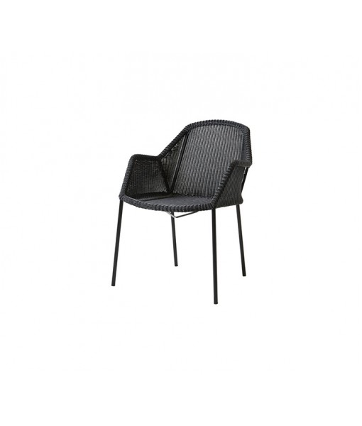 Breeze armchair, stackable
