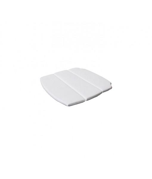 Breeze armchair, cushion White
