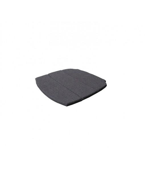Breeze armchair, cushion Black