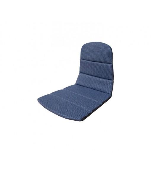 Breeze armchair, seat-/back cushion Blue