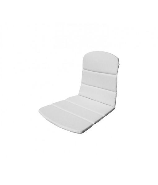Breeze armchair, seat-/back cushion White
