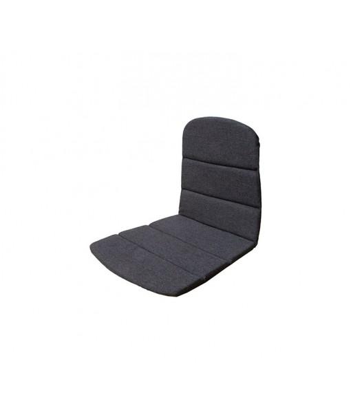 Breeze armchair, seat-/back cushion Black