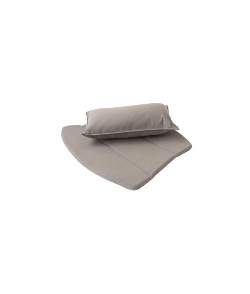 Breeze lounge chair, cushion set Taupe, ...