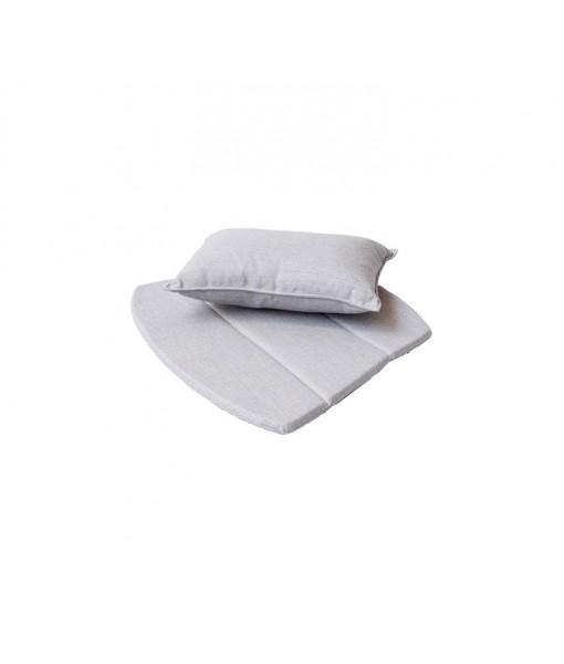 Breeze lounge chair, cushion set Light ...